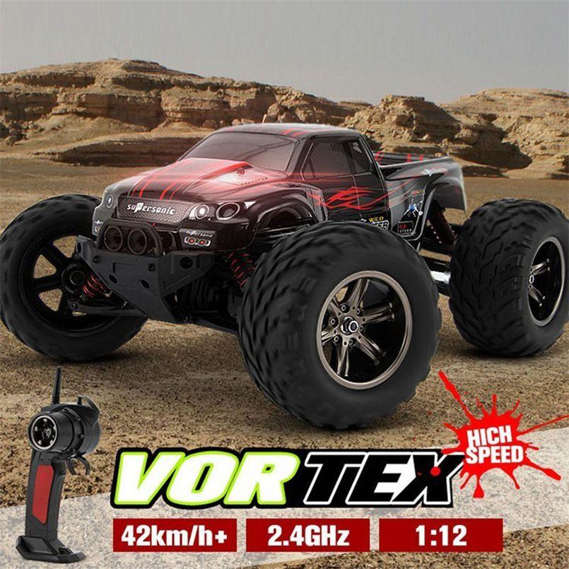 Abbyfrank Dirt Bike Kf S911 1:12 2wd jouet camion monstre Wl A969 A979 grande roue garçon idée cadeau télécommande voiture radiocommandée