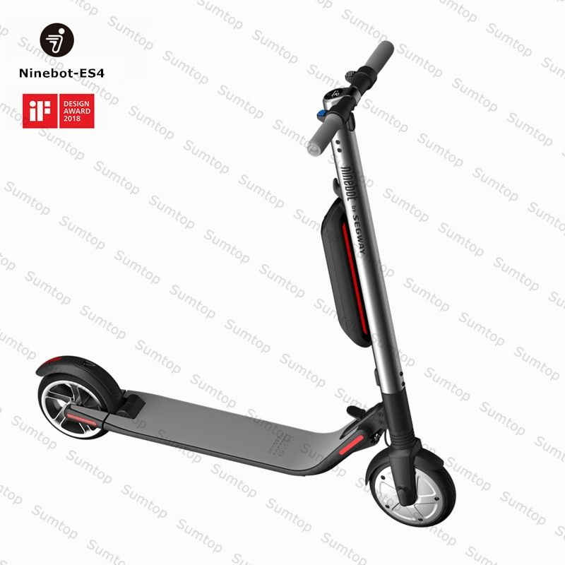 Ninebot KickScooter ES4 Smart Electric Kick Scooter foldable lightweight long board hoverboard skateboard with APP hover board
