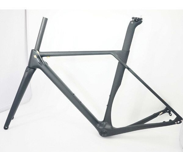 Hot sale Toray carbon fiber gravel bike frame 2018 new flat mount disc brakes carbon gravel bike frame