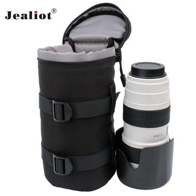 Jealiot Universel sac Imperméable pour le Sac D'objectif D'appareil Photo numérique DSLR caméra Housse de couverture Pour Canon Nikon sony
