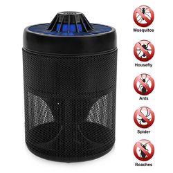 Piège À moustiques Électronique Tueur de Moustique Écologique Moustique Insectes Inhalateur Lampe Antiparasitaire pour Usage Intérieur et Extérieur
