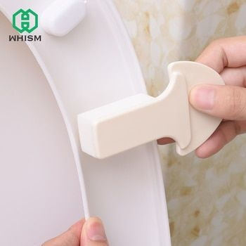 WHISM Practical Household Goods Toilet Seat Lifters Eco-friendly Health Bathroom Gadget Convenient Toilet Cover Portable Device