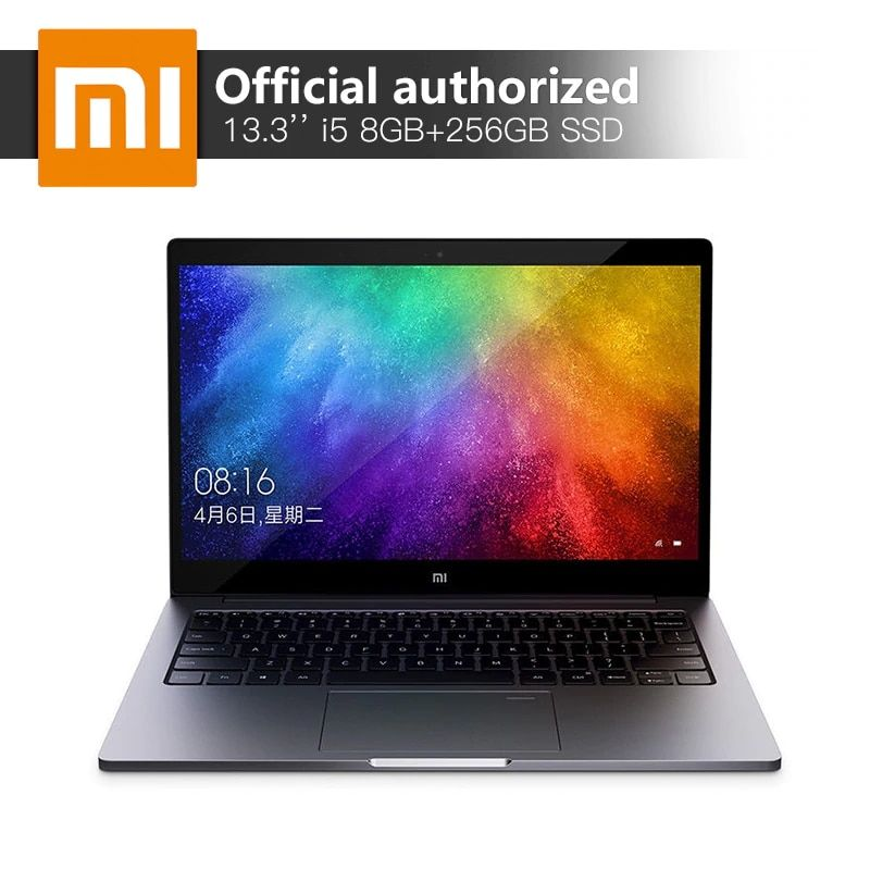 Xiao mi mi Air Notebook 8 gb DDR4 256 gb SSD Intel i5-8250U Quad Core Laptops MX150 2 gb GDDR5 fingerprint Erkennen Ultraslim