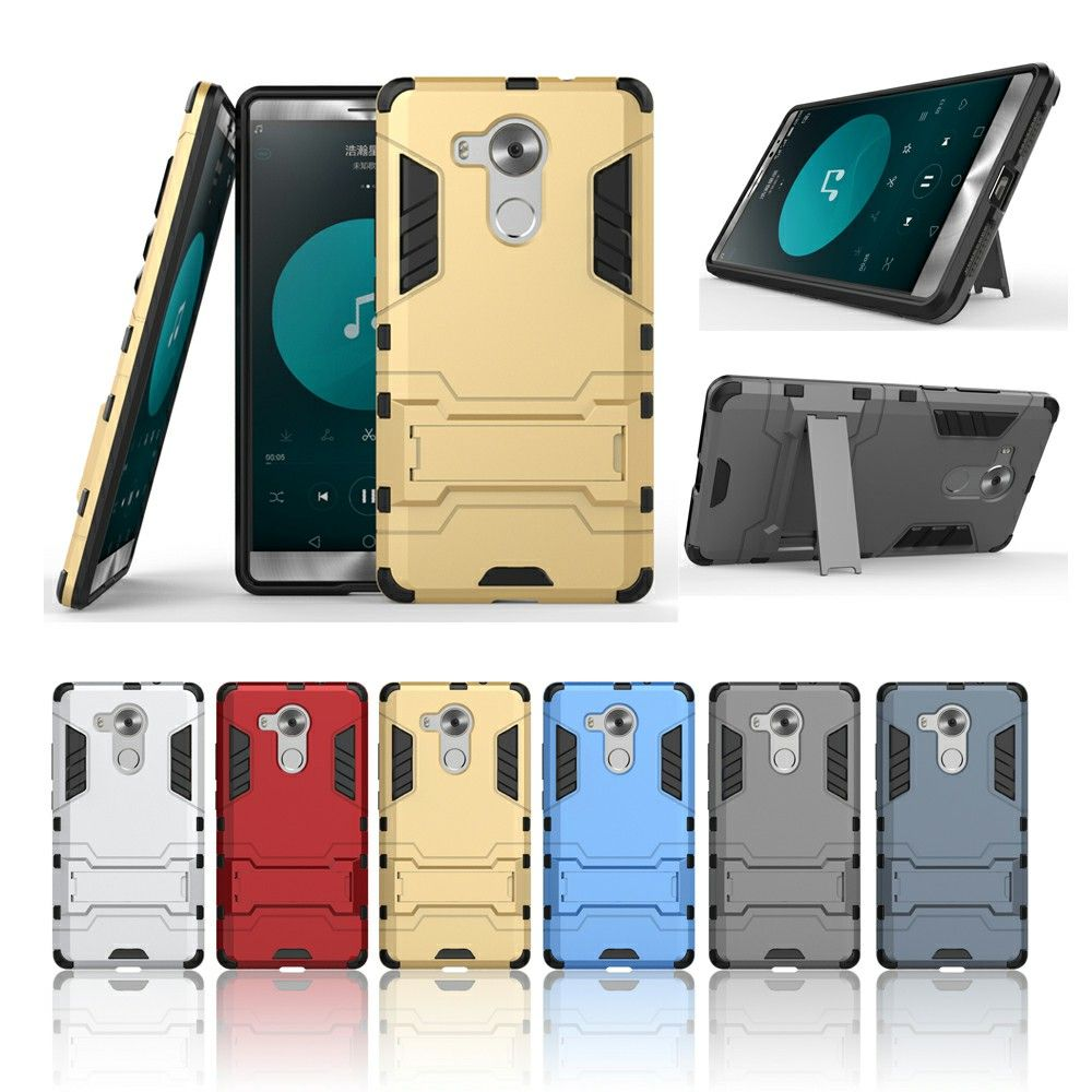 For Huawei Mate 8 Case Cover for Huawei Mate 8 Anti-Knock Rubber & Hard Plastic Armor Cases Covers For Huawei Mate 8 Phone Case