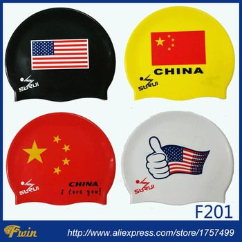 Unisex  Adults Waterproof Silicone Protect Ears Long Hair Sports Swim Pool Swimming Cap Can be customized with logo printing