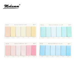 Colorido creativo Memo pad notas adhesivas Memo Notebook papelería escuela Oficina suministros post it papelaria escolar