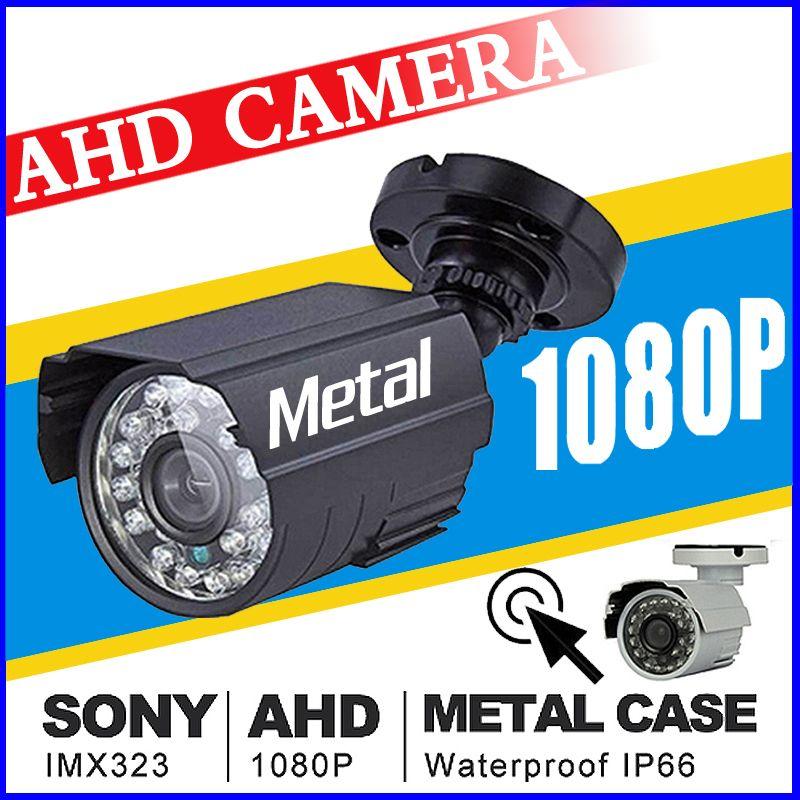 Full AHD CCTV Mini Camera 720P/960P/1080P 3000TVL HD Digital 2.0MP Waterproof Outdoor 24LED Infrared Night Vision Small Vidicon
