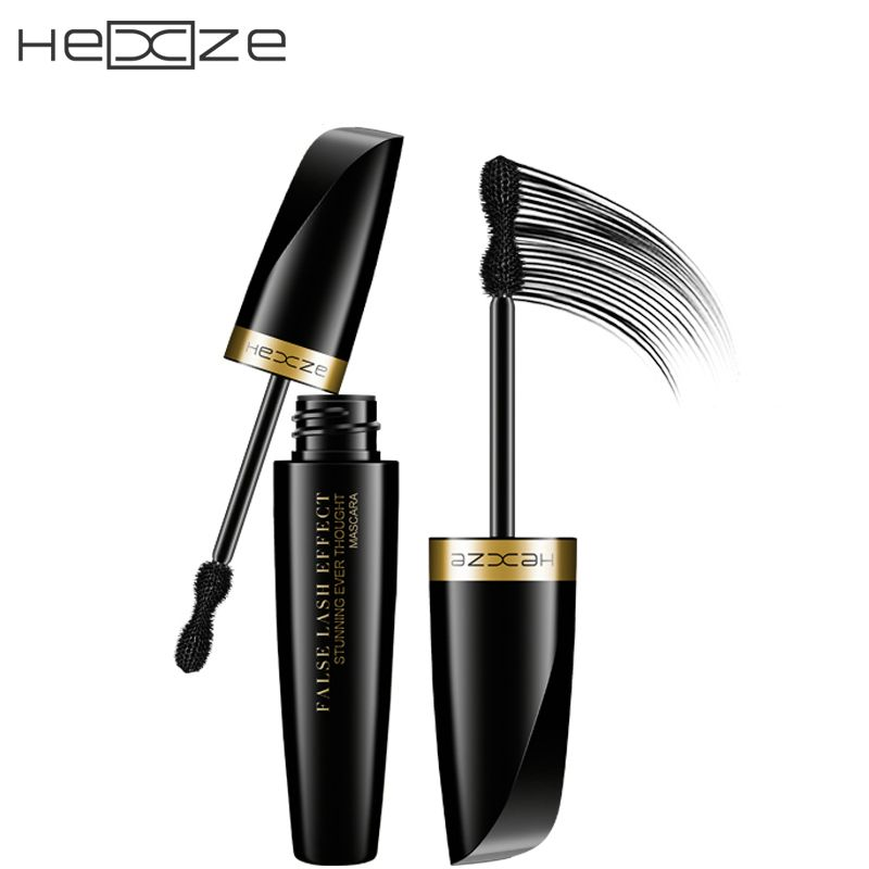 HEXZE Brand Makeup 3D Lashes Mascara To Eyelashes Curling Thick Lengthening Waterproof Black Ink For Lashes Korea Cosmetics