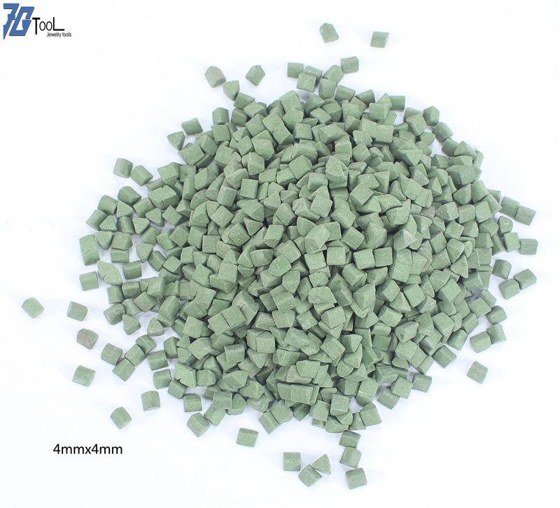 Polieren Media 3*3mm, 4*4mm, 7*7mm, anwendung für Vibrations Tumbler, entgraten für edelstahl, aluminium ware