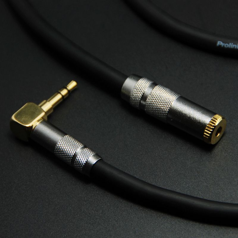 DIY HIFI Mini Jack 3.5mm Male to Female Extension Stereo Audio Cable for Car Phone PC Headphone Jack 1/8