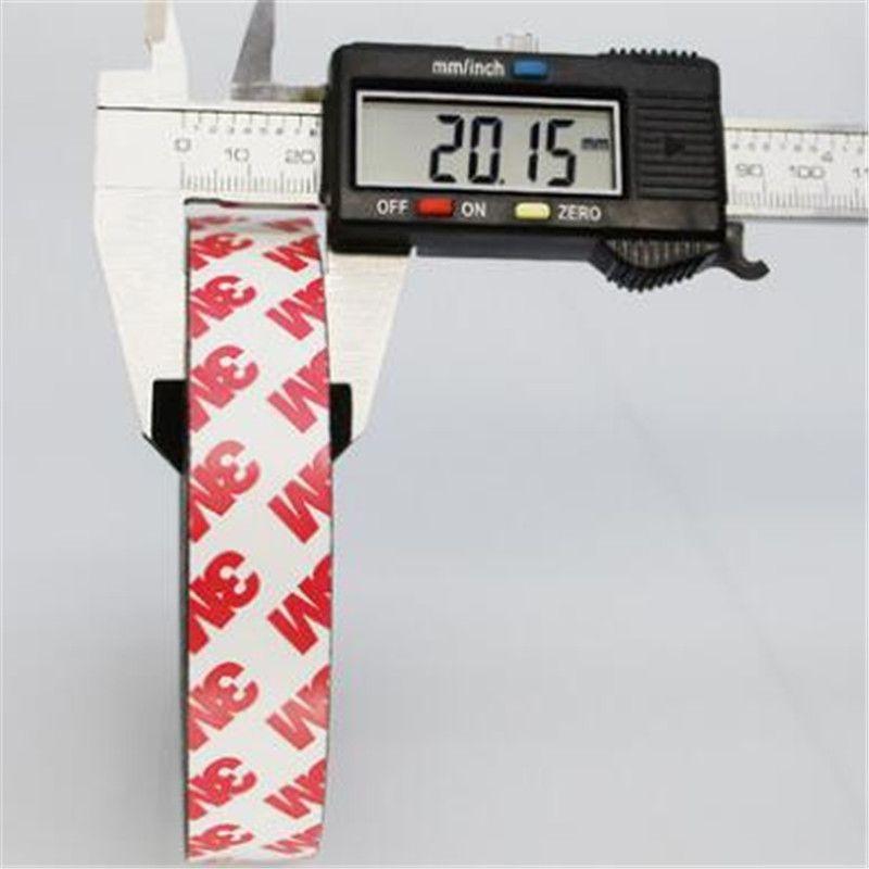 Zion 1 m 5 m 20x1.5mm bande magnétique flexible auto-adhésive bande magnétique en caoutchouc largeur 20mm épaisseur 1.5mm