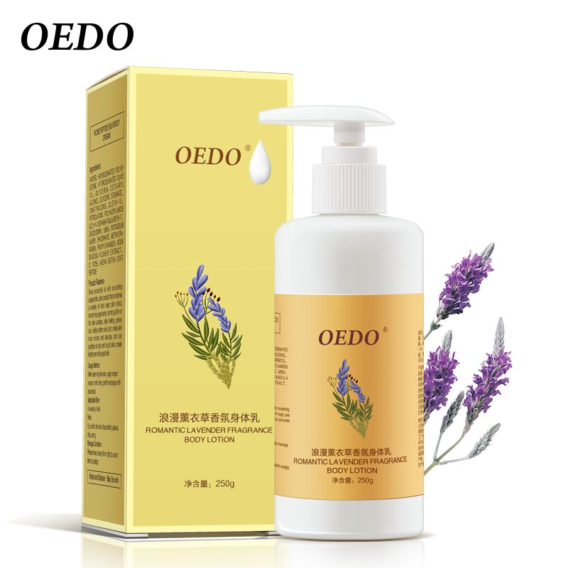 OEDO Lavender Body Lotion Moisturizing Anti-aging Body Creams Repair Skin Care Anti-chapping whitening Nourishing Antibacterial