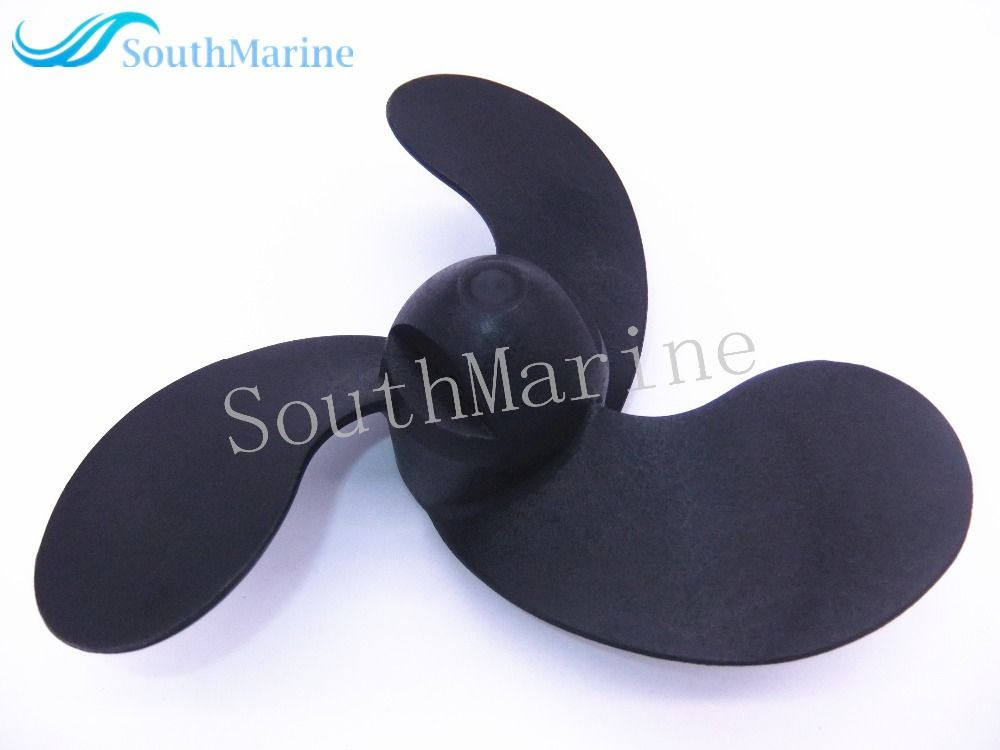 Plastic Propeller 309-64106-0 309641060M for Tohatsu Nissan 2.5HP 3.5HP / Mercury 3.3HP / Johnson Evinrude 3.3HP outboard motor