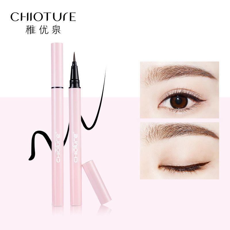 CHIOTURE Marque Liquide Eyeliner Imperméable À L'eau de Longue durée à Séchage rapide Maquillage Eye Liner Delineador Caneta Liquido Lapis de Olho