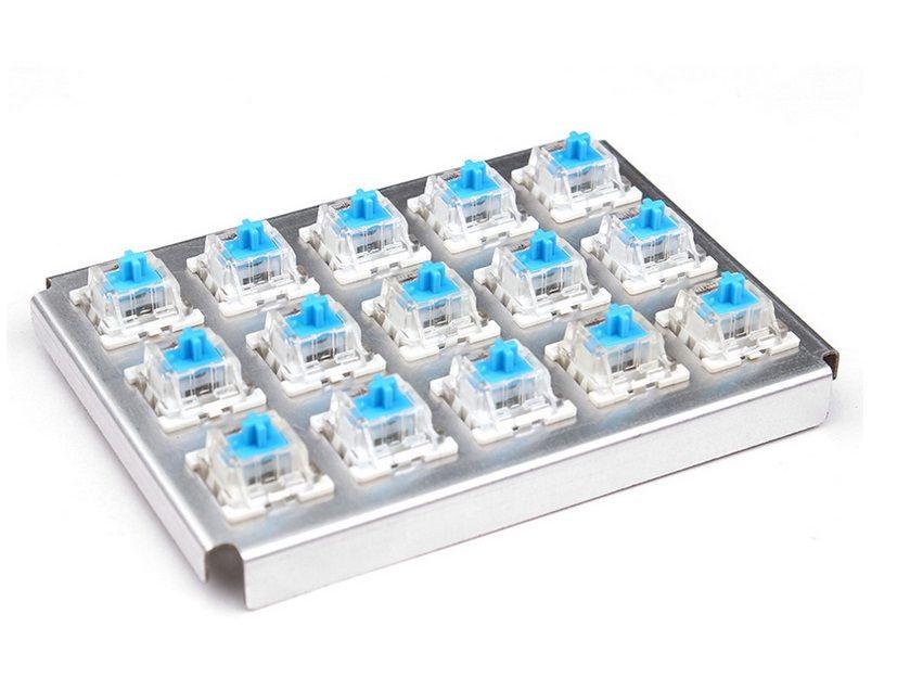 TEAMWOLF CIY Série Axe Corps Noir Rouge Bleu Brun Outemu remplacement des Commutateurs pour les Jeux clavier mécanique