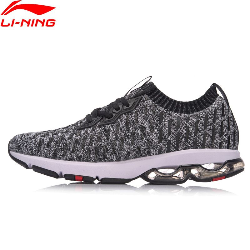 Li-Ning Men BUBBLE ARC Cushion Running Shoes LN ARC Mono Yarn Wearable Sneakers LiNing Breathable Sports Shoes ARHN013 XYP633