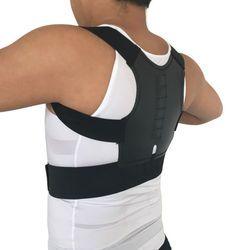 Magnétique Posture Correcteur Hommes de Soutien Orthopédique Retour Ceinture Corriger Posture Brace Correcteur de Posture 12 Aimants XL XXL B001