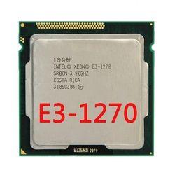 Intel Ксеон E3 1270 3,4 ГГц LGA1155 8 МБ 4 ядра Процессор процессор E3-1270 SR00N