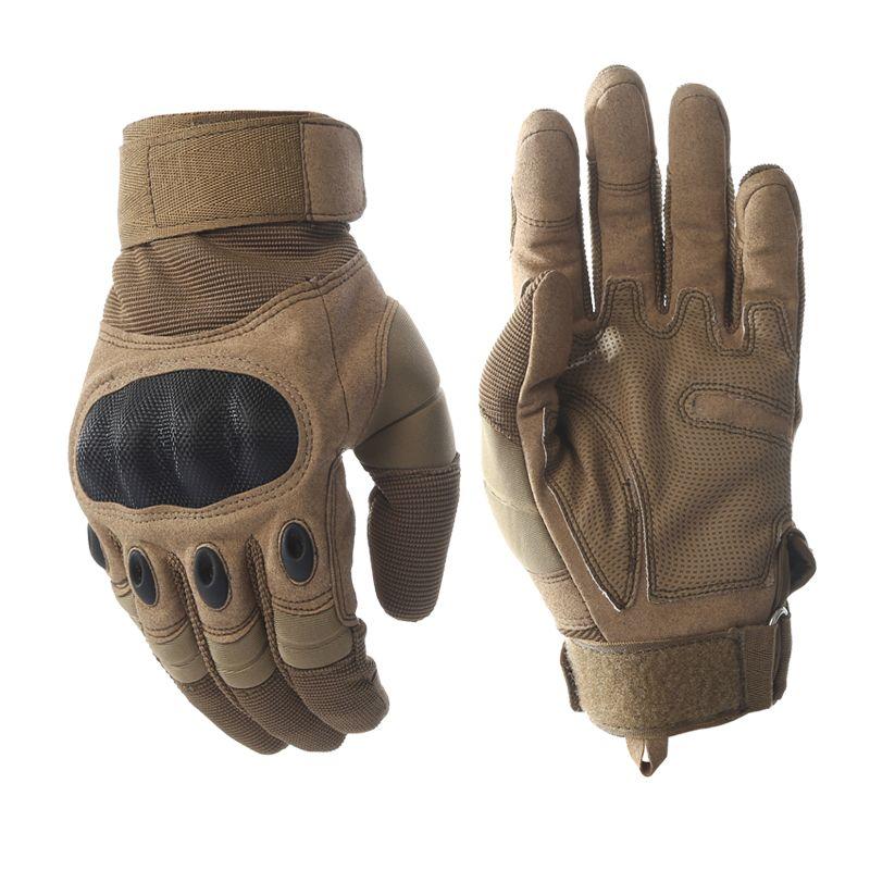 Écran tactile armée militaire tactique gants Paintball Airsoft tir Combat anti-dérapant vélo dur Knuckle complet doigt gants