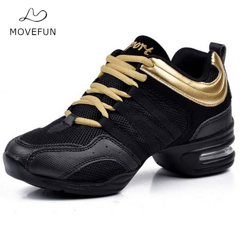 Dancing Shoes for Women Jazz <font><b>Sneaker</b></font> New Dance <font><b>Sneakers</b></font> for Women Modern Street Dance Shoes