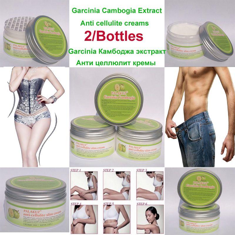 2 Packs Pure Garcinia Cambogia Extract anti cellulite creams,fat loss slimming gel burn fat <font><b>effective</b></font> for men & women