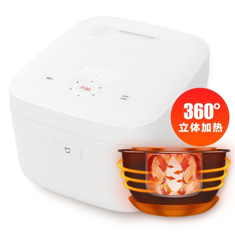 MIJIA Electric rice cooker 3-4 people's home Mini automatic intelligent millet Xiaomi IH rice cooker 100% Original authentic