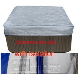 Whirlpool spa abdeckung tasche mit isolation innen, size2210x2320x300 mm 87