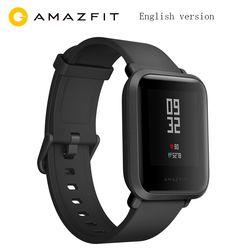 Anglais Version Huami Amazfit Bip Montre Smart Watch GPS Gloness Smartwatch Smart-montre Watchs 45 Jours En Veille pour Xiaomi Téléphone MI5 IOS