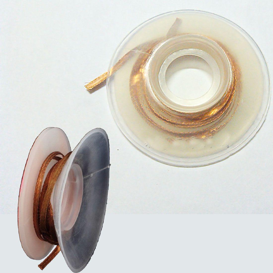 Hot Solder high quality Wick 1.5M 2.0mm Desoldering Braid Solder Remover Wick Pure Oxygen-free Copper Wire Solder Accessories