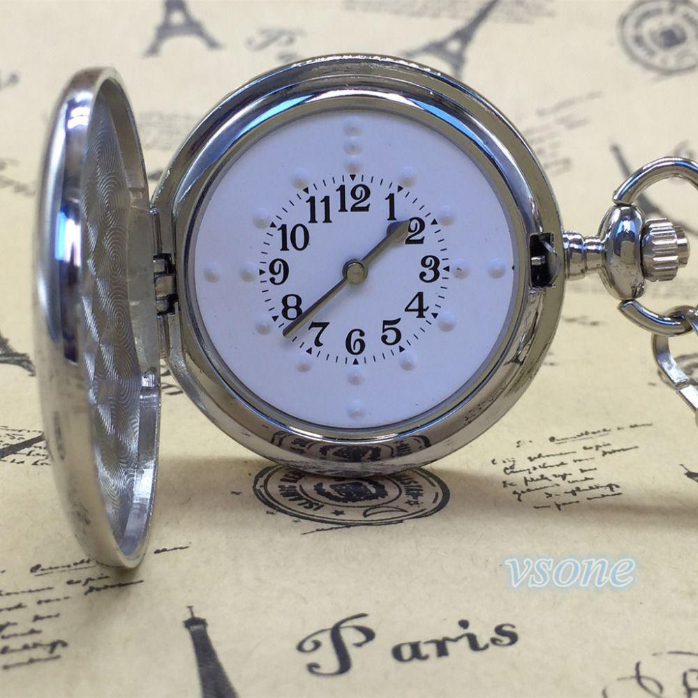 Reloj Braille de Bolsillo para Invidentes o Personas Mayores