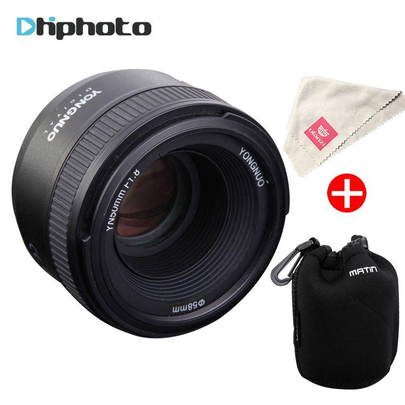 Original YONGNUO YN50MM F1.8 Large Aperture Auto Focus Lens for Nikon DSLR ,50mm f1.8 lens for Nikon D3300 D5300 D5100 D750