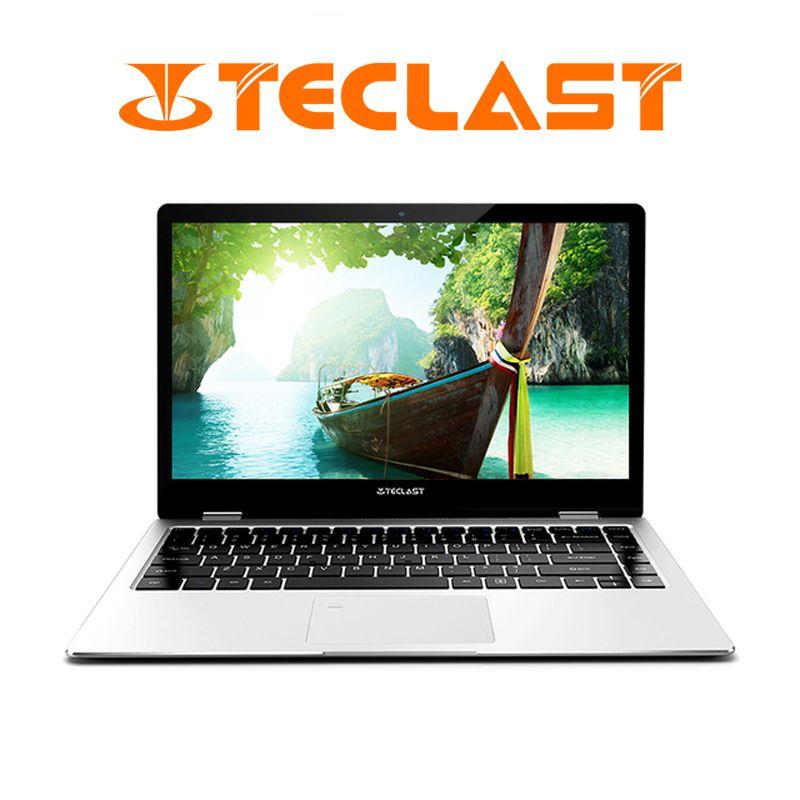 Teclast F6 Pro Notebook 13,3 zoll 1920x1080 Windows 10 8 GB RAM 128 GB Intel Core m3-7Y30 Dual Core fingerprint Anerkennung