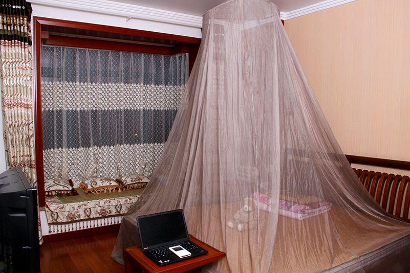 Light duty faraday canopy sliver fiber radiashield canopy