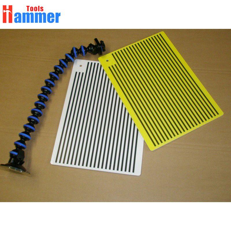 Marteau outils Super blanc et jaune PDR KING doublé Dent conseil-réflecteur conseil-remplace Portable Dent lumière