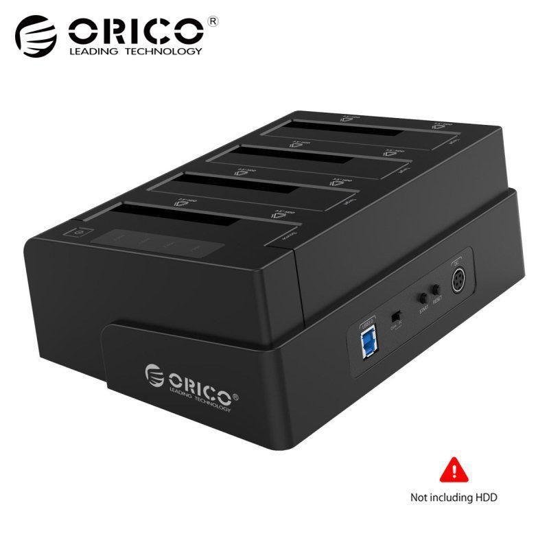ORICO 2,5 3,5 Zoll HDD Fall SSD Adapter USB 3.0 zu SATA für PC Laptop Hard Drive Docking box 32 TB Externe Speicher HDD Gehäuse