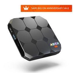 A95X R2 Smart TV Box Amlogic S905W Quad Core 2.4 GHz WiFi Android 7.1 Set Top Box 4 k HD 1G 8G 2G 16G HDMI 2.0 Set-top Box