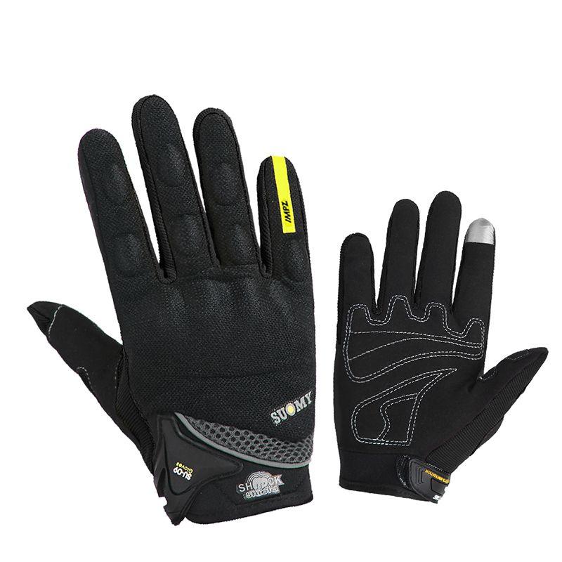 SUOMY gants de Moto hommes course Gant Moto Moto Motocross équitation gants Moto respirant été complet doigt Guantes