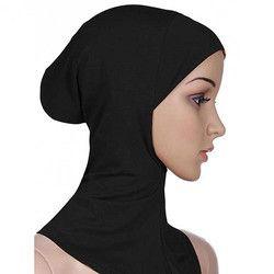 Magnifique Doux Musulman Pleine Couverture Intérieure Bouchon Hijab Islamique Underscarf Cou Tête Capot Chapeau