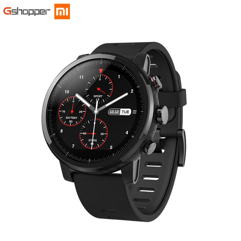 Xiaomi huami Amazfit strato спортивные часы 2 Bluetooth GPS 512 МБ/4 ГБ 11 видов спорта режимы 5atm водонепроницаемость для iOS и Android