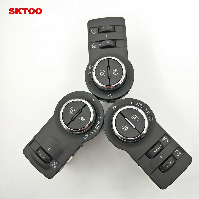 SKTOO For Chevrolet Cruze For Buick Excelle GT Auto Headlight Switch Control Headlight Switch Button With Auto Headlight Sensor