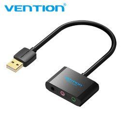 Convention USB Carte Son Externe Audio Carte 3.5mm USB Adaptateur USB à Écouteurs Casque Carte Son Pour Microphone Ordinateur Portable ordinateur