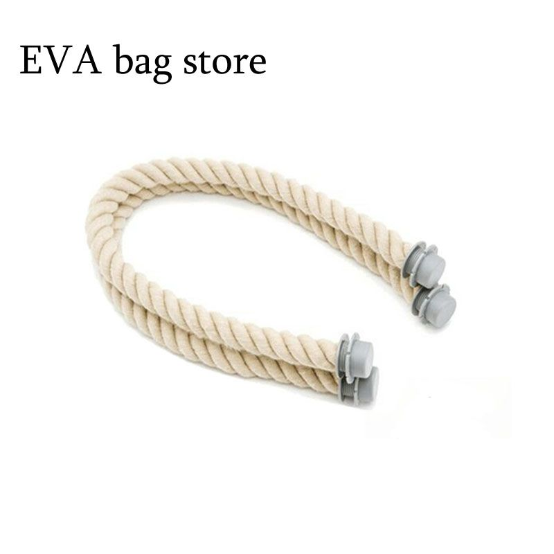 65cm 1 pair <font><b>rope</b></font> handle for italy obag beach handbag fashion style for obag accessories handle 2017