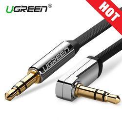 Ugreen AUX Câble Jack 3.5mm Câble Audio 3.5mm Jack Haut-Parleur Câble pour JBL Casque Voiture Xiaomi redmi 5 plus Oneplus 5 t AUX Cordon