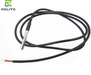 1 pcs paquet en acier Inoxydable DS18B20 1 mètres étanche DS18b20 sonde de température capteur de température 18B20
