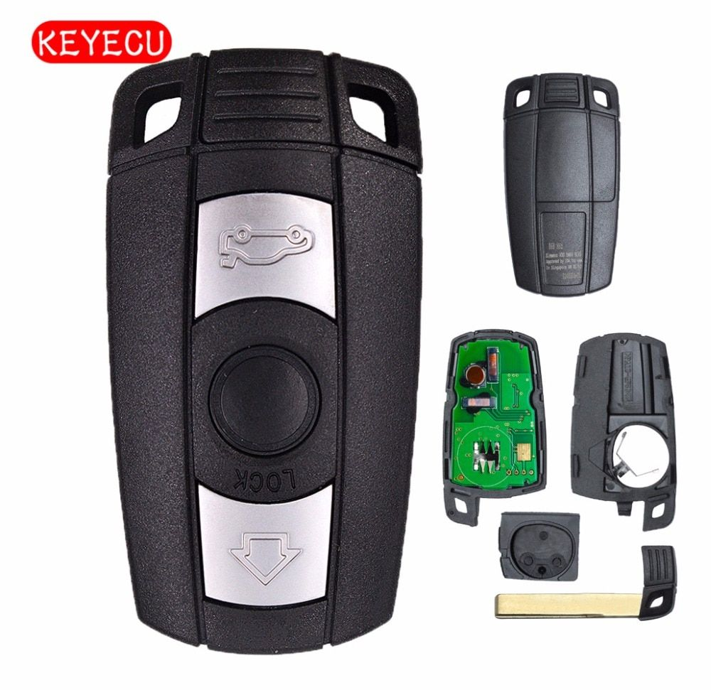 Keyecu Keyless-Go Function Full Intelligent Remote Key 315MHz/868MHz PCF7952 Chip for BMW CAS3 3/5 Series X5