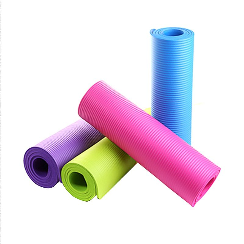 Utility 4 MM Yoga Matte Übung Pad Dicke, Nicht-slip Folding Gym Fitness Matte Pilatus Liefert 4 Farben Nicht -skid Boden Spielen Matte