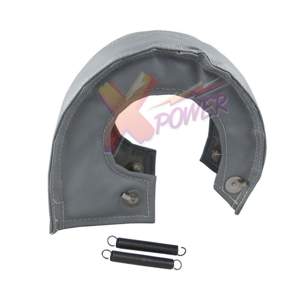 Xpower -T4 GT35 GT37 GT40 GT45 GT47 GT55 Turbo/Turbocharg Heat Shield Blanket Wrap-Black.Grey