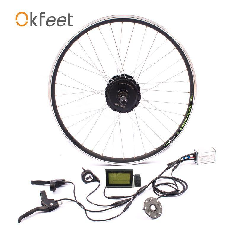 36V 350W ebike kit Electric bike conversion kit motor MXUS brand without battery LED LCD display optional 16/20/24/26/28 g350f