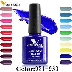 Venalisa 60 Color Nail art beauty DIY nail paint design Gel uv led 7.5ml nail art Enamel gel nails polish uv varnish lacquer gel