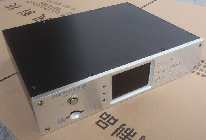 300A silver full Aluminum Preamplifier player enclosure/amplifier chassis BOX